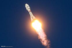 پرتاب ماهواره بر سایوز به فضا