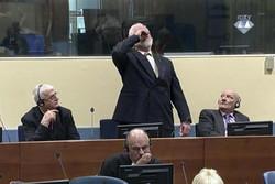 فلم/ بوسنیائی مسلمانوں کے قاتل نے زہر پی کر خودکشی کرلی