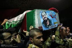 مدافع حرم شہداء سے وداع اور تشییع جنازہ
