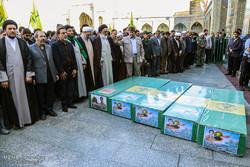 قم میں مدافع حرم 5 شہیدوں کی تشییع جنازہ