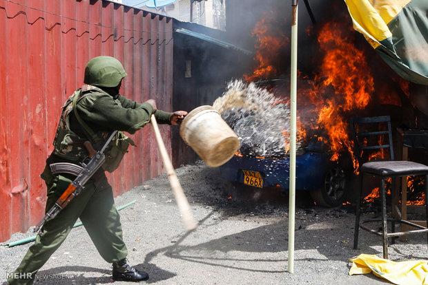 کینیا میں وہابی دہشت گرد گروہ الشباب کے حملے میں 5 پولیس اہلکار ہلاک