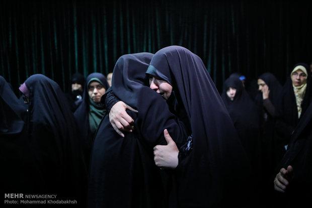 """وداع با پیکر شهدای مدافع حرم """"نوید صفری"""" و """"عبدالخالق حسنی"""" و """"نجیب الله انوری"""""""
