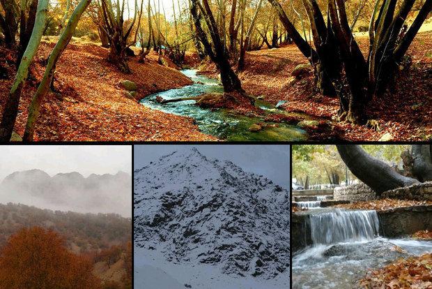 سفر به سرزمین برف و آفتاب/قاب زیبای پاییزی در کهگیلویه و بویراحمد