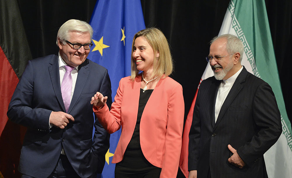 Shunning Trump, EU strongly backs Iran nuclear deal