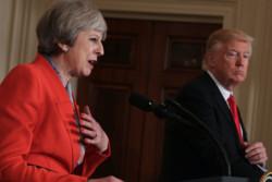 ترامپ اوایل سال آتی میلادی به انگلیس سفر میکند
