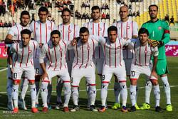 دیدار دو تیم فوتبال فولادخوزستان و  سپیدرود رشت