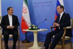 Iran, Russia emblem of anti-terrorism coop.