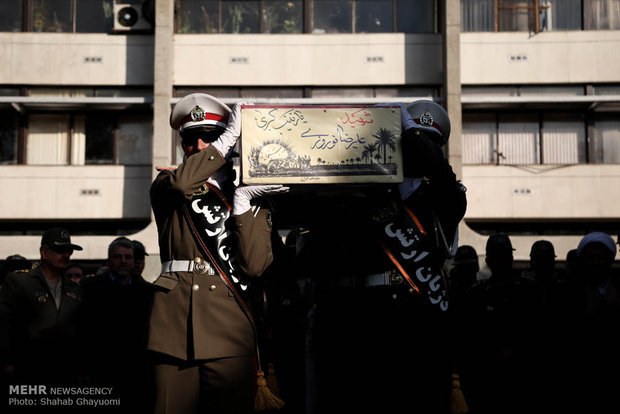 Şehit Alirıza Nevruzi'nin cenaze töreni