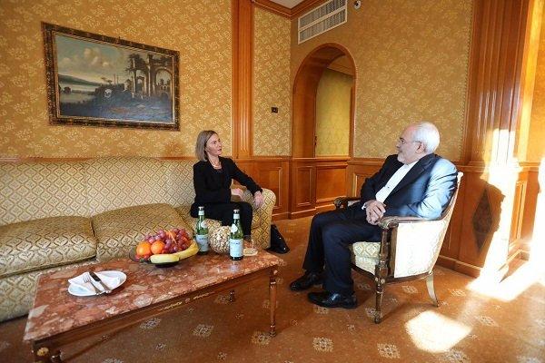 VIDEO: Zarif, Mogherini hold talks in Rome