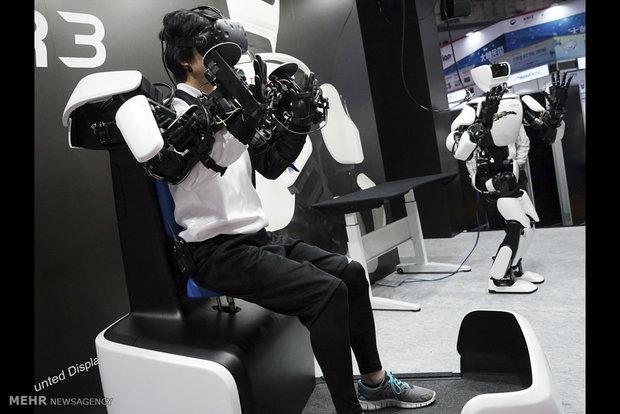 نمایشگاه ربات ها در ژاپن