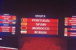 فٹ بال ورلڈ کپ 2018 ء میں ایران گروپ بی میں پرتگال، اسپین اور مراکش کے ہمراہ