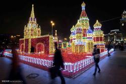 تزیین شهرهای جهان در آستانه کریسمس