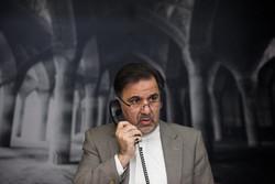گفتگوی تلفنی آخوندی با جانشین فرمانده نیروی زمینی ارتش/انتقال پیکر جانباختگان تا قبل از غروب