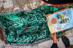 مدافع حرم شہید مجید عسکری جمکرانی کی تشییع جنازہ