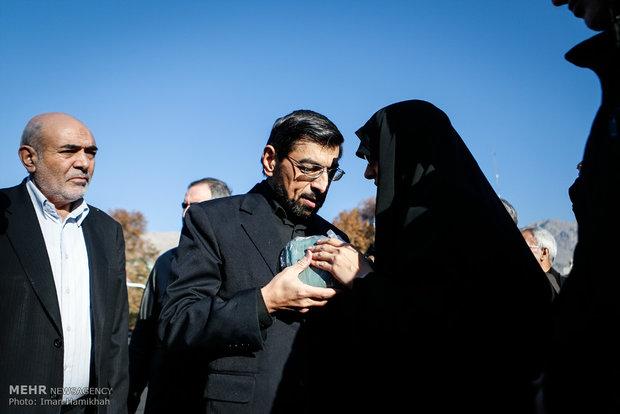 مراسم تشییع پیکر حبیب الله چایچیان
