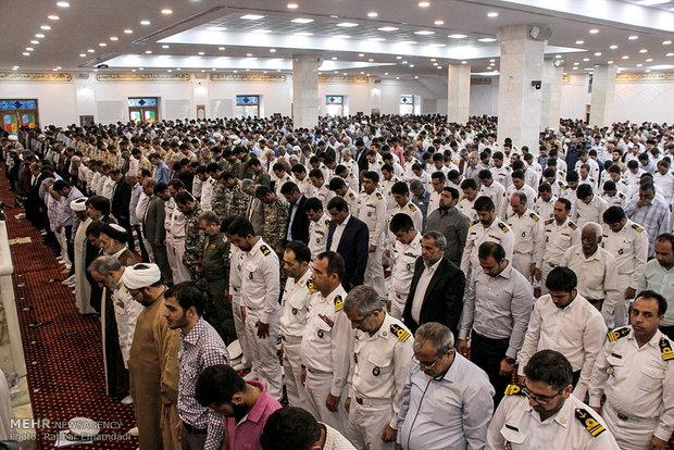 اقامه نخستین نماز جمعه در مسجد جامع بندرعباس