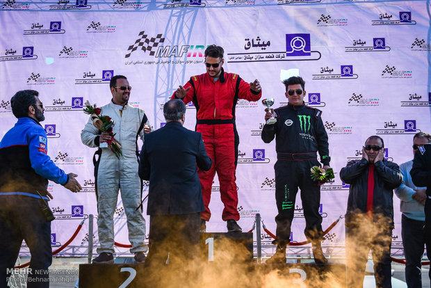 İran'ın Ralli Şampiyonası'ndan kareler