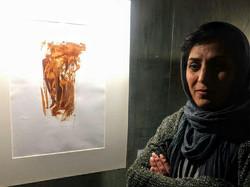نمایشگاه آثار نقاشی شهین دمی زاده برپاست