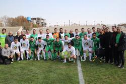پیروزی ستارگان فوتبال ایران برابر رسانه ورزش