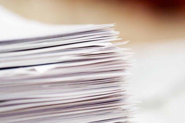 تولید کاغذ در کارخانههای داخلی متوقف شد
