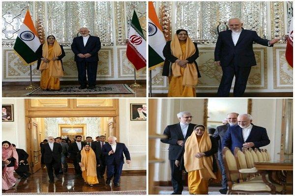 Zarif, Hindistan Dışişleri Bakanı ile görüştü