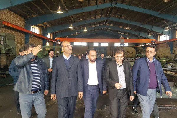 حمایت از تولید و طرحهای صنعتی نیمه تمام  در شهرکهای صنعتی قزوین