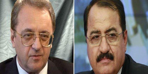 Bogdanov, Haddad discuss intra-Syrian dialogue's outcome in Geneva
