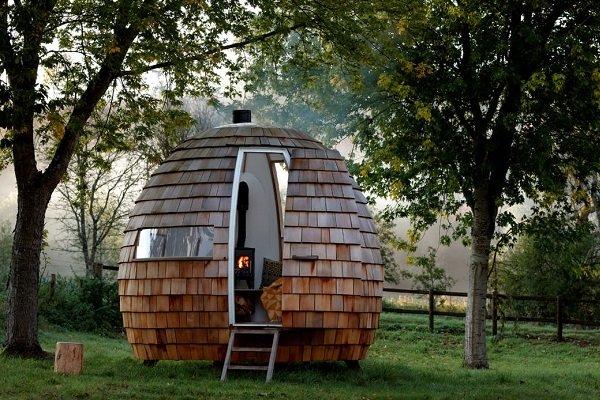 خانه های چوبی متحرک همیشه نورگیر از راه رسید