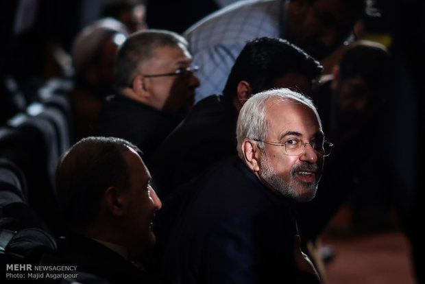 Foreign Minister Zarif addresses 'Dawn of Truth' Conference