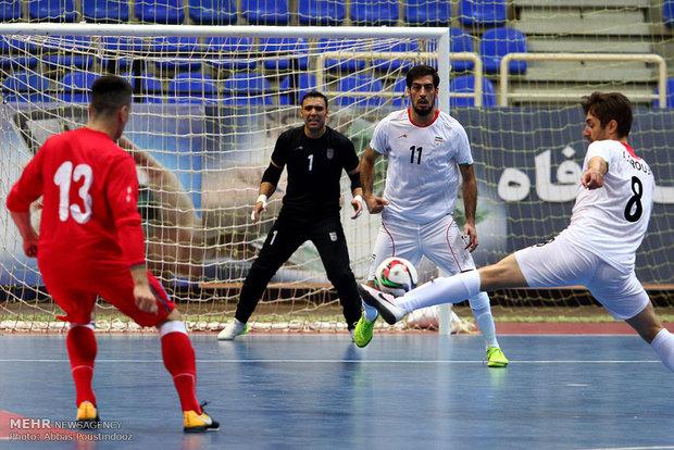 منتخب ايران لكرة الصالات يحتل المركز السادس عالمياً