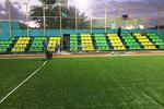 زمین چمن مصنوعی فوتبال در شهرکرد به بهره برداری رسید