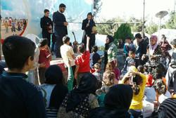 برنامه های شاد در سرپلذهاب توسط سفیران مهر
