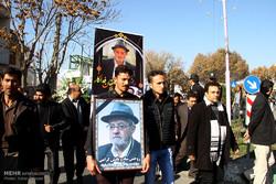 مجلس یادبود دهقان فداکار در تبریز برگزار شد