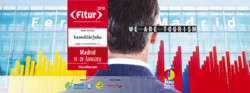 A poster for 2018 FITUR tourism fair