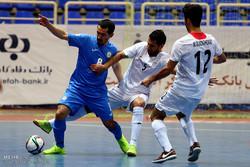 İran-Kazakistan futsal maçından kareler