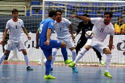 Iran beats Kazakhstan at Isfahan Futsal Tourney