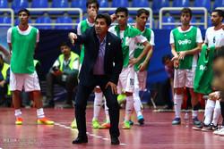 دیدار تیم های ملی فوتسال ایران و قزاقستان
