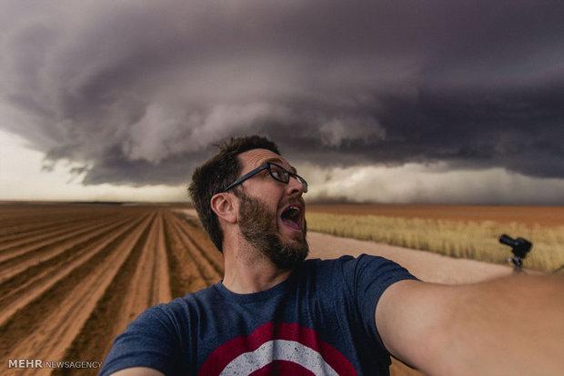 تصاویری از طوفان در آمریکا