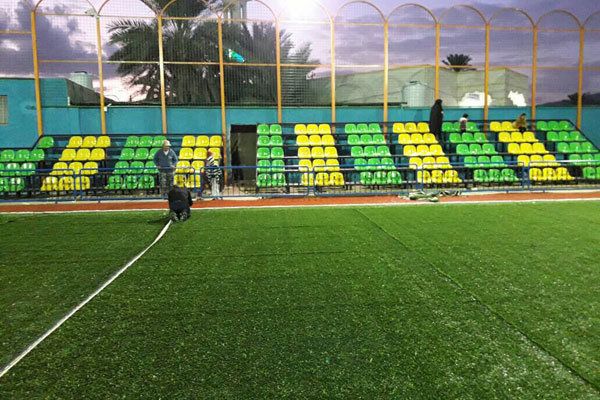 بنیاد مستضعفان ۲۱ زمین ورزشی در سیستان و بلوچستان احداث می کند