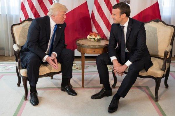 گفتوگۆی ترامپ و ماکرۆن لهسهر کێشهی ههولێر و بهغدا