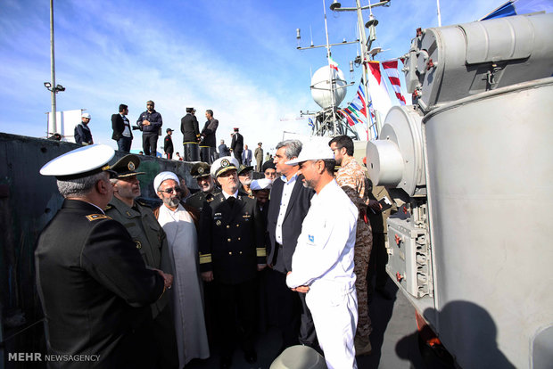 'Separ' missile-launching warship joins Iran's Navy