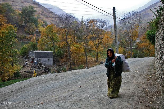طبیعت پاییزی شهرستان سنندج