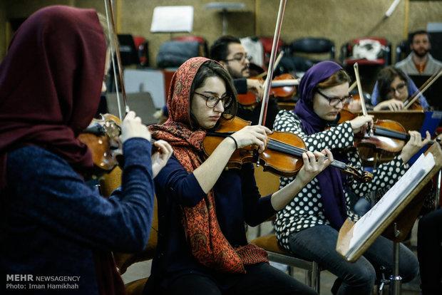 Tahran Senfoni Orkestrası'ndan bir ilk