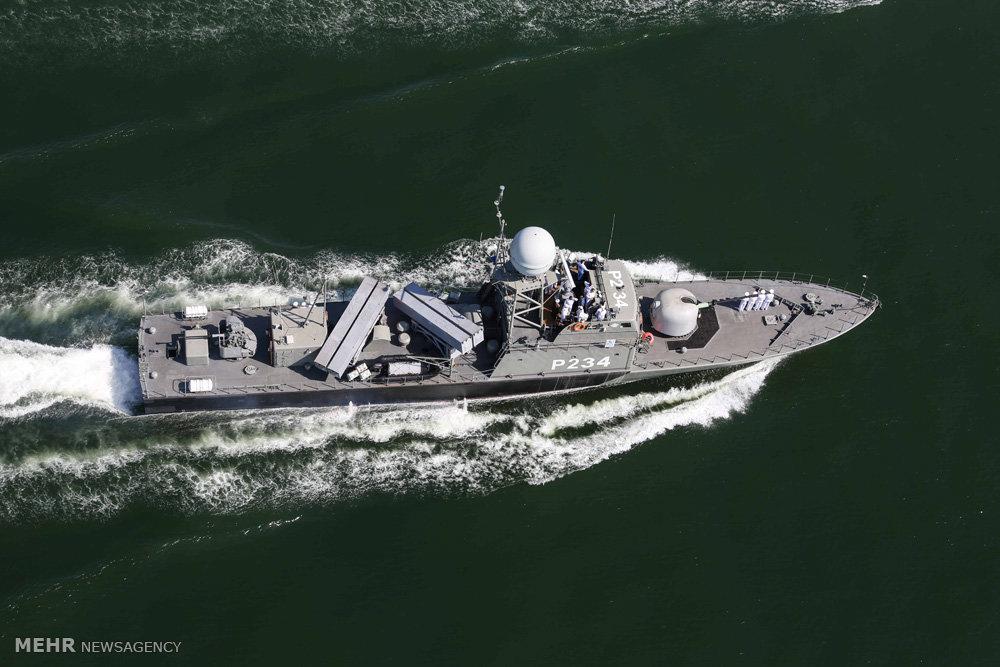 Mehr News Agency Separ Missile Launching Warhsip Joins