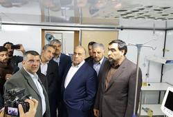 افتتاح بیمارستان موقت بانگر سرپلذهاب
