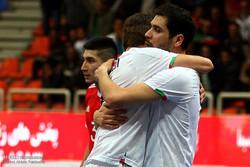 دیدار تیم های ملی فوتسال ایران و روسیه