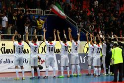 المنتخب الايراني لكرة الصالات يتوج بطلا للمرة 12