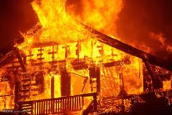 آتش سوزی در جنوب کالیفرنیا