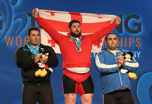 Iran wins first world weightlifting title