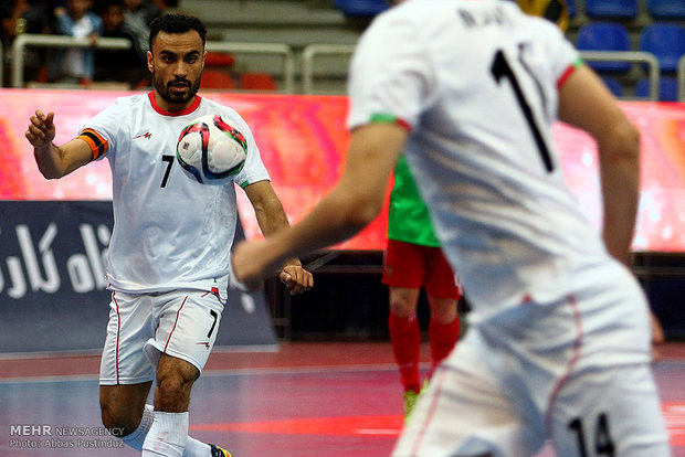 Iran beats Russia at Isfahan Futsal Tourney